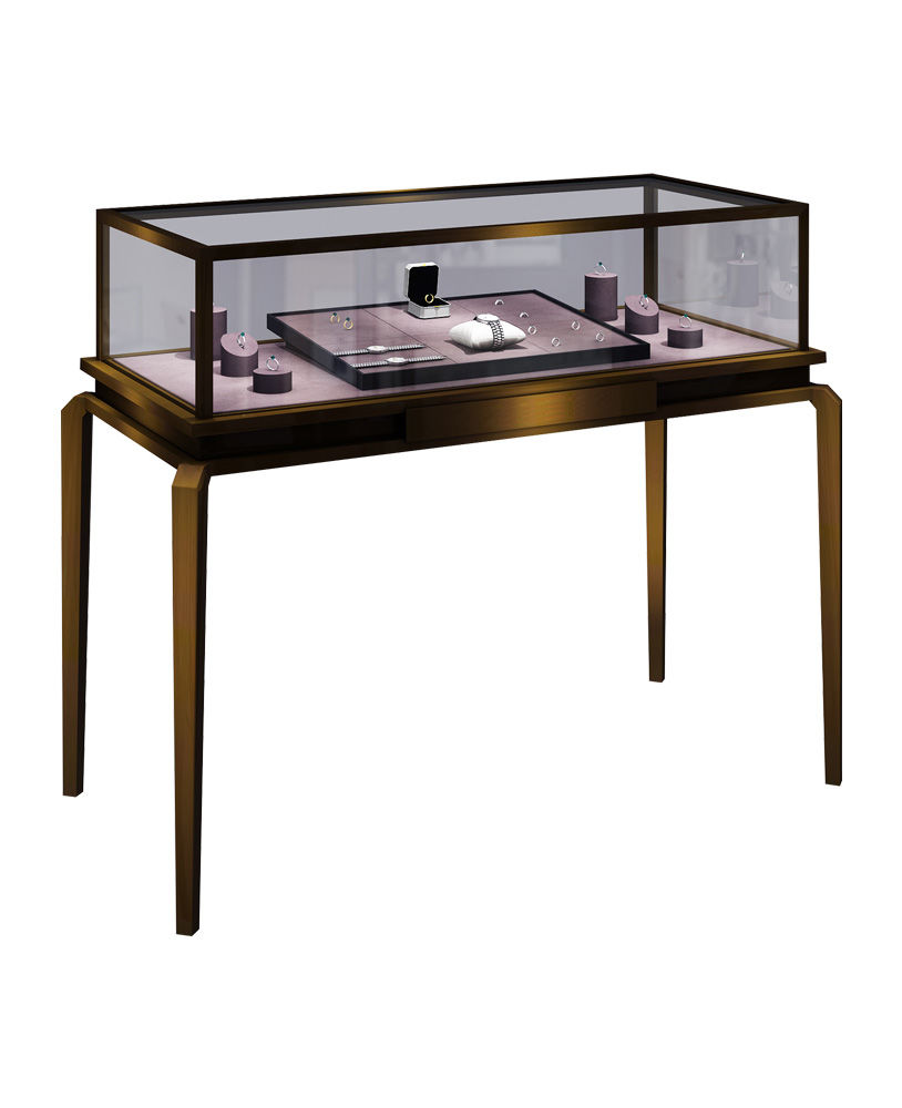 Whole Portable Gl Jewellery Display Cases And
