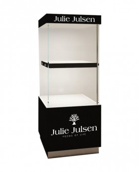 High End Luxury Free Standing  Jewelry Display Tower