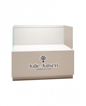Luxury High End White  Jewelry Display Counter