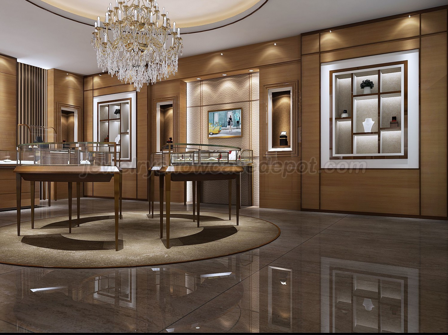 36e048eee Luxury Retail Jewellery Display Cabinets | Jewelry Showcase Depot