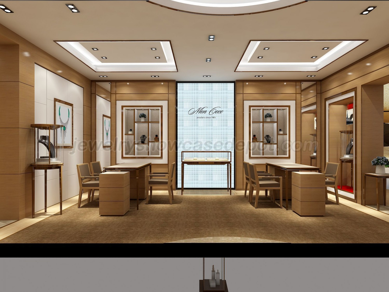 Luxury Retail Jewellery Display Cabinets Jewelry