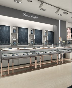 Luxury Retail Jewellery Shop Design