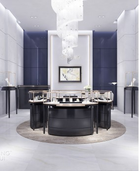 New Luxury Retail Jewelry Shop Interior Design