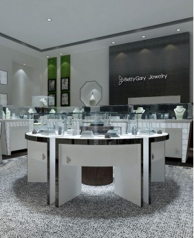 Luxury Creative Jade Shop  Design