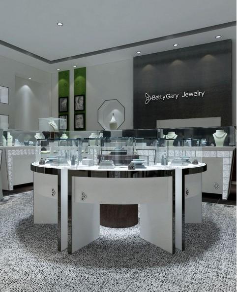 Luxury Creative Jade Shop  Design