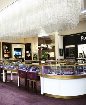 Luxury Retail Watch Store Interior Design