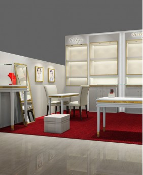Luxury Retail Jewelry Store Display Showcase Design