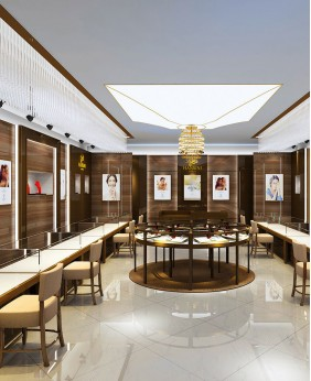 Luxury Creative Jewelry Shop  Design