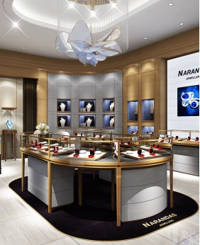 Luxury High End Retail Jewelry Store Interior Design