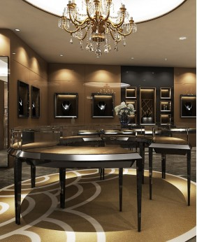 High End Creative Jewelry Shop Display Design