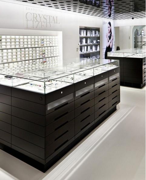 Luxury Retail Crystal Jewelry Store Interior Design