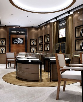 Luxury High End Retail Jewelry Shop Interior Design