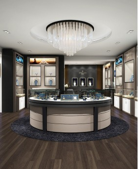 Custom Luxury Retail Jewelry Shop Interior Design