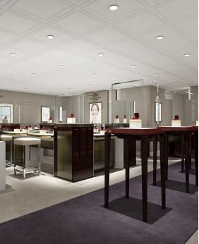 Luxury Retail Diamond Jewelry Store Interior Design