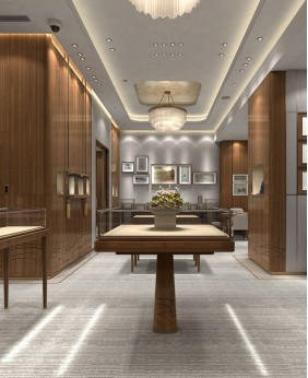 Luxury Retail Jewelry Store Design