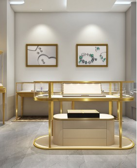 Luxury Retail Watch Shop Counter Design
