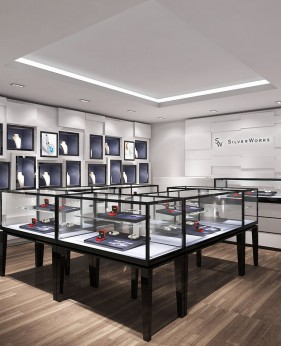 High End Retail Jewelry Store Interior Design
