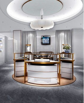 Luxury Creative Modern Jewelry Store Design