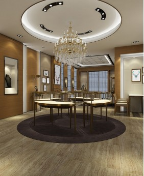 Luxury Retail Jewellery Display Cabinets