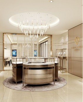 Luxury Retail Jewelry Store Interior Design