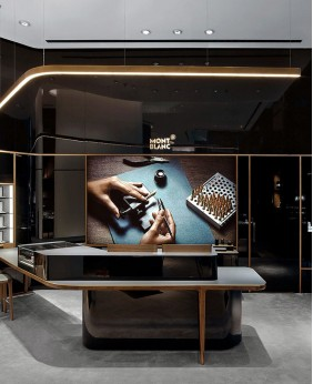 Custom Luxury Retail Watch Shop Interior Design