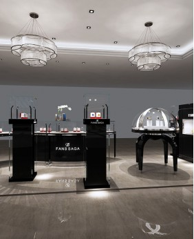 Luxury Retail Jewelry & Watch Store Kiosk Design