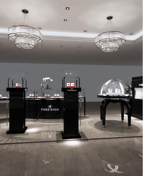 Luxury Retail Jewelry & Watch Store Kiosk Design