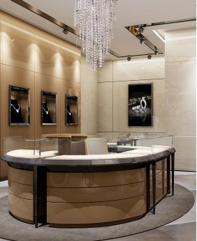 Luxury Retail Jewelry Shop Interior Design