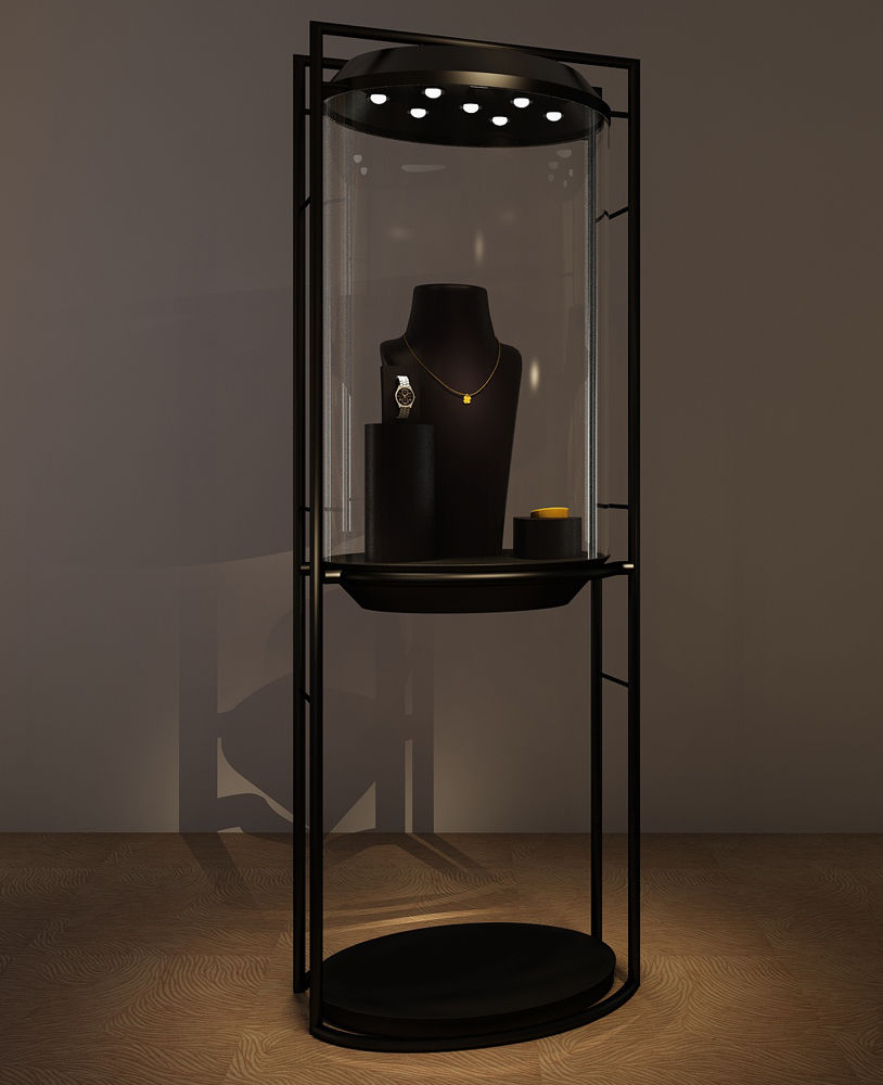 Contemporary Jewelry Display Cases