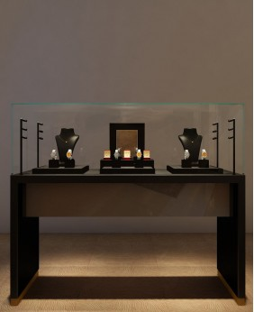 High End Luxury Watch And Jewelry Display Cabinet