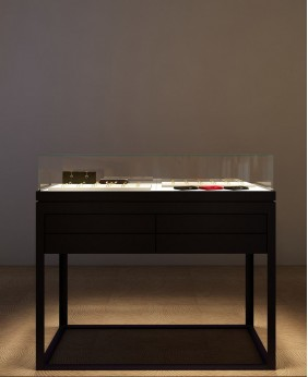 High Quality Portable Wood Jewelry Display Cases