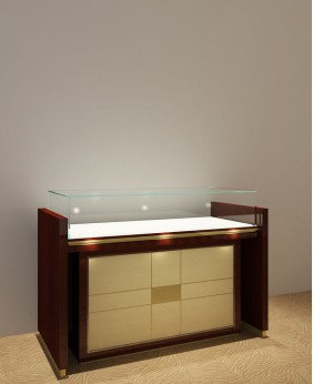 High End Glossy Jewelry Display Counter