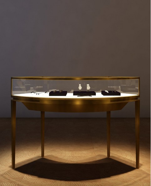 High End Luxury Jewelry Showcase Display