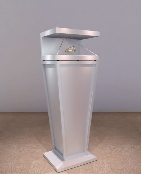 White Creative  Jewelry Store Display Stand