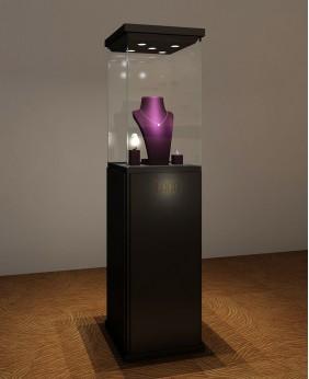 Luxury Black Glossy  Jewelry Pedestal