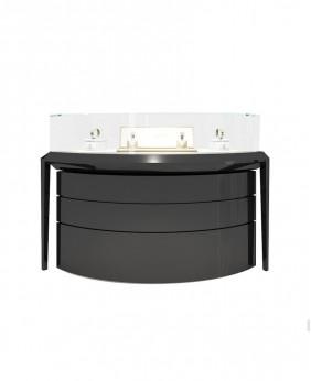 High End Luxury Watch Counter Design