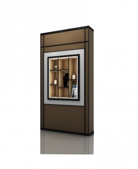 High End Wall Mounted Glass Display Case