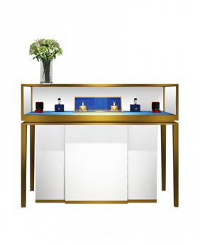 High End Luxury Free Standing  Jewellery Counter Display