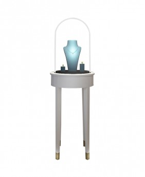 High End Jewelry Countertop Display Cases