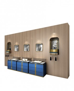 High End Commercial Wall Mounted Display Case