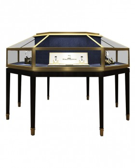 High End Custom Jewelry Store Display Cases