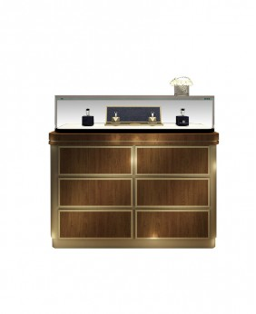 High End Luxury Jewellery Shop Counter Furniture Design