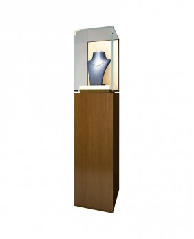 Portable Jewelry Pedestal Showcases For Sale