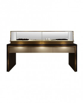 High End Jewelry Display Counter And Showcase