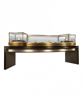 Luxury Sit Down Jewellery Shop Display Unit