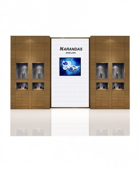 High End In Wall Display Case