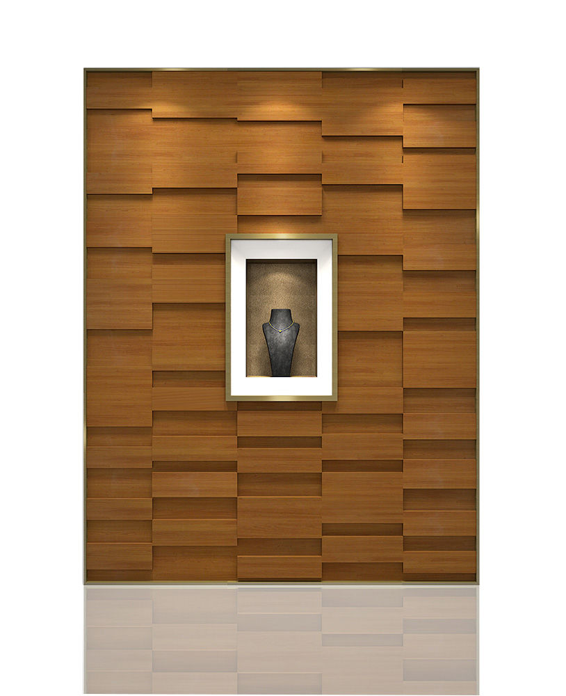 Wide Variety Of Wall Display Showcase For Jewelry Store