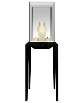 Luxury Black Glossy Jewelry Show Cases