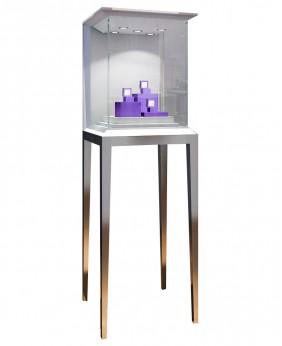 High End Glass Jewelry Store Display Showcase