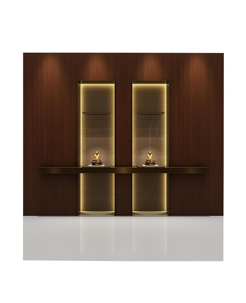 High End Locking Glass Wall Display Case